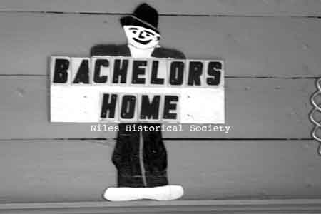 Outdoor Bachelor's Home Sign