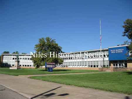 The Niles McKinley High School opened in the Fall of 1957.