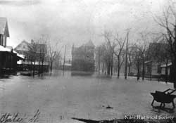State Street during 1913 Flood.