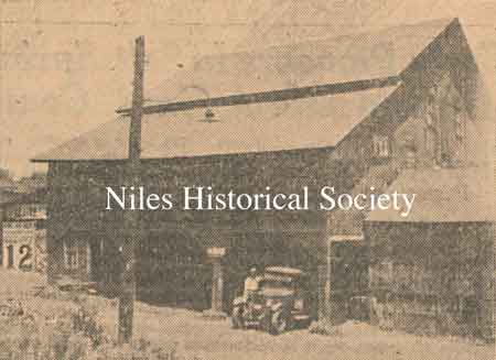 Grist Mill as it appeared in 1934.