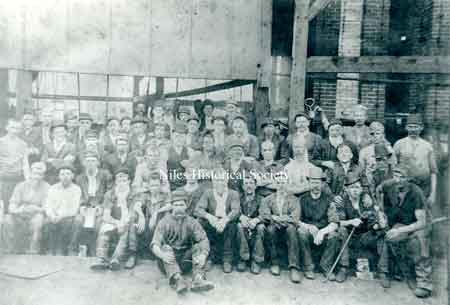 The crew of the Falcon Iron & Nail Co.