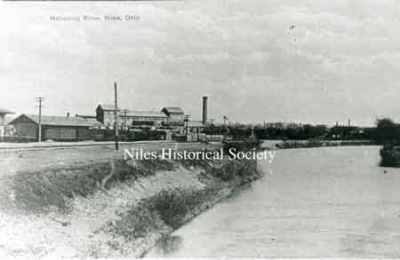 The Niles Firebrick Co. was constructed by John R. Thomas in 1872 and was one of Niles' most enduring industries.
