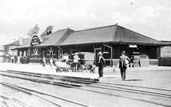The Erie Railroad Depot was located on Mahoning Avenue and Pratt Street.