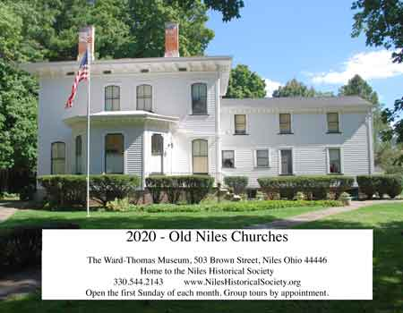 The Niles Historical Society's 2020 calendars