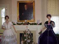 Two White House Ladies' gowns