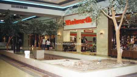 The inside of the Eastwood Mall during the complete renovation which included the removal of the fountains.