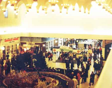 View of Eastwood Mall Concourse.