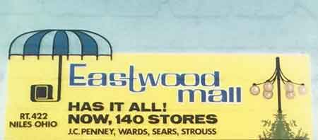 Original Eastwood Mall Umbrella Logo