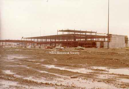 Construction of Eastwood Mall, 1968.