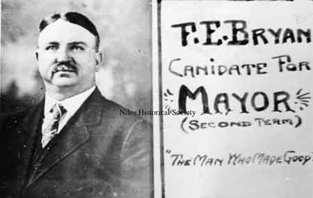 Before 1916, F.E. Bryan(1914-1916) served as mayor.