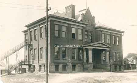 The Bert Street School Building on Belmont Avenue, renamed Monroe School, was closed and razed in the 60s.