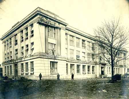 The new McKinley (Edison) High School was built, on Church Street between Arlington and Chestnut Avenues