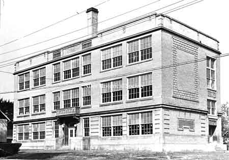 Madison Avenue School, renamed Roosevelt School, became an annex to the high school when S.J. Bonham School was dedicated in 1957.