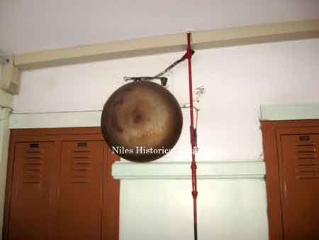 Fire gong on second floor
