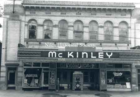It was located on North Main Street about where Sparkle Market is now (2019). Later on this site, the McKinley Theatre would be built, the McKinley Theatre closed in 1960.