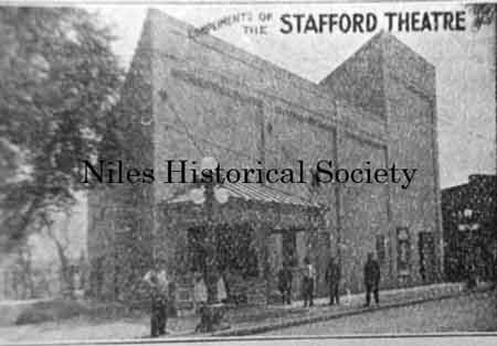 The Stafford Theatre was listed in the Burch Directory of 1912 at 125-133 Furnace Street (East State).