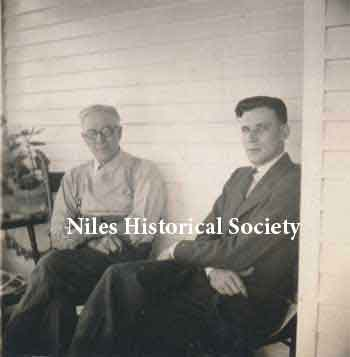 Charles Blott and William Blott, Phyllis' grandfather and father.