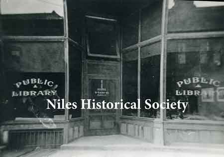 The Niles Public Library was started as a civic project.