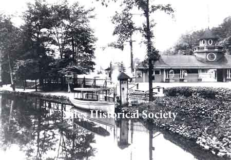 Riverside Park, was a pleasure resort located at the intersection of Route 46 and Salt Springs Road