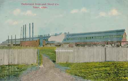The DeForest Sheet & Tin Plate Company was built in 1915 on the west side of North Main Street at the outskirts of town.