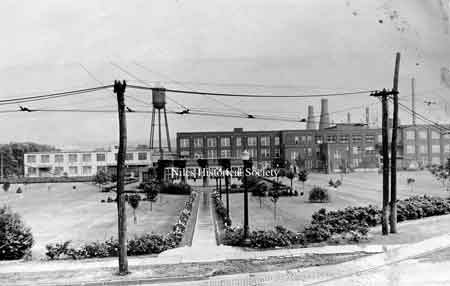 The General Electric Plant and grounds.