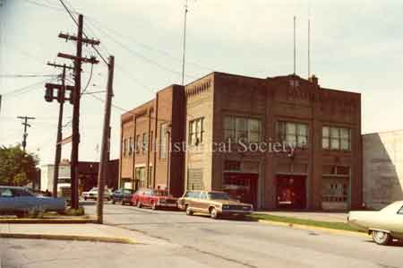 The new city administration building was built in 1928 on West State Street allowing for the renovation and expansion of the Police and Fire Departments in the old city building to take place in 1931. Photo 1976.