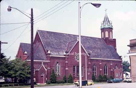 Photo of St. Stephen's Catholic Church as it looks today.