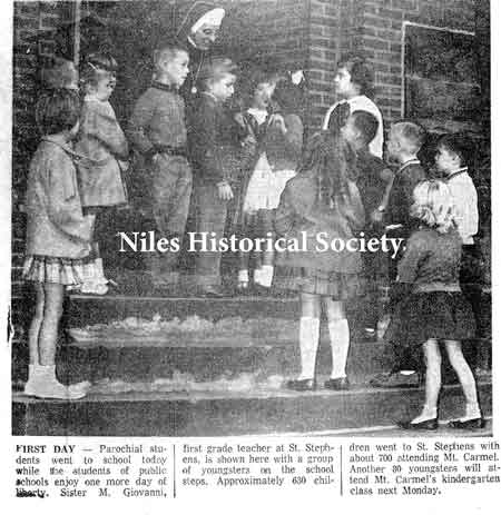 Niles Daily Times photograph
