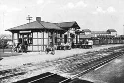 PRR Train Station